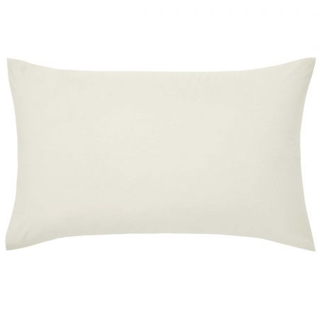 Luxury Plain Ivory Pillowcase