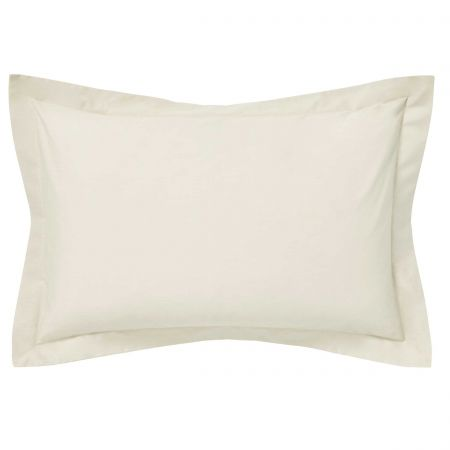Luxury Ivory Oxford Pillowcase