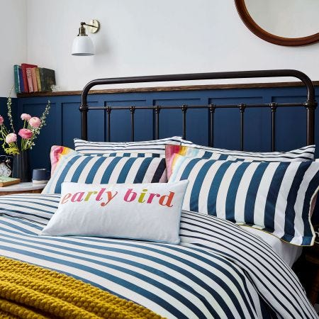 Cambridge Stripe Bedding Multi