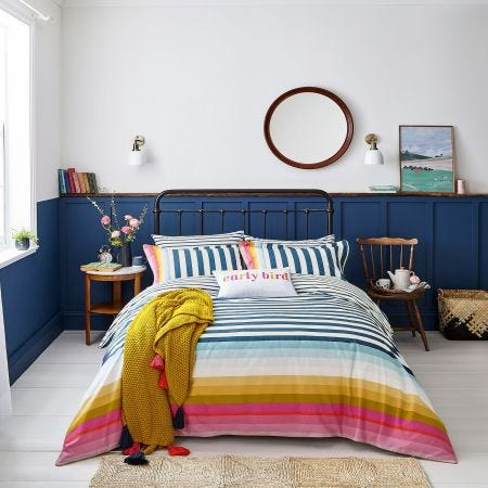 Cambridge Stripe Multicoloured Bedding