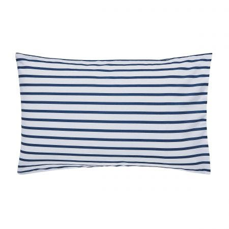 Cambridge Stripe Pair of Housewife Pillowcases Multi