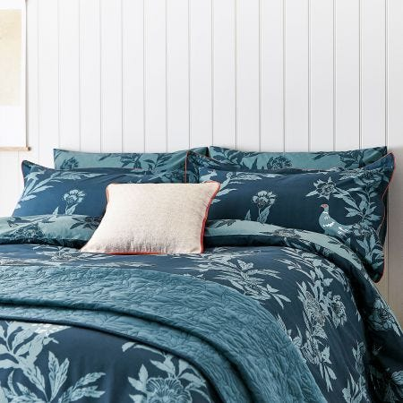 Country Critters Bedding Navy