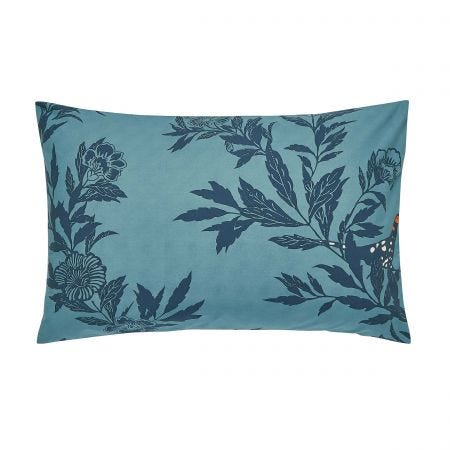 Country Critters Pair of Housewife Pillowcases Navy