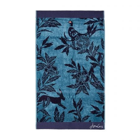 Country Critters Towels, Teal
