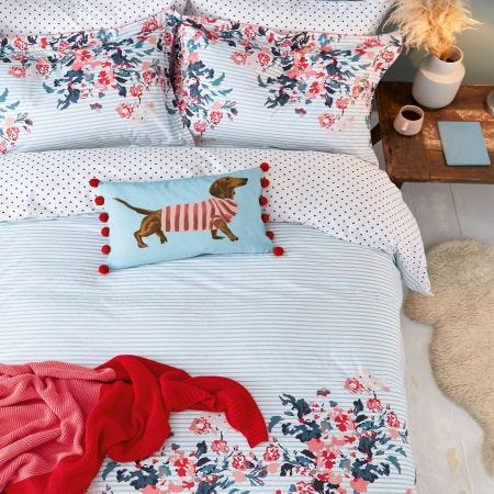 Falmouth Floral Blue Bedding