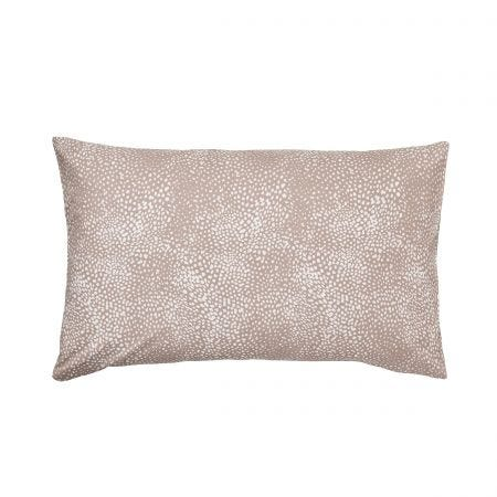 Feathers Housewife Pillowcase Chalk