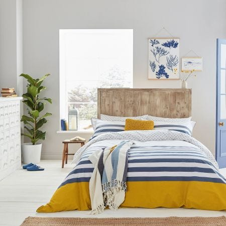 Joules Blue Stripe Nautical Bedding