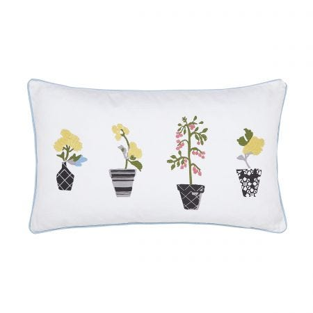 Garden Dogs Potted Plants Cushion