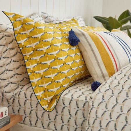 Heron Geo Fitted Sheets