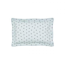 Little Leaf Soft Blue Oxford Pillowcase