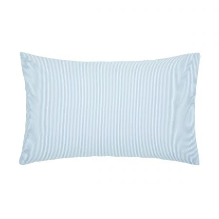Melrose Floral Pair of Housewife Pillowcases, Blue