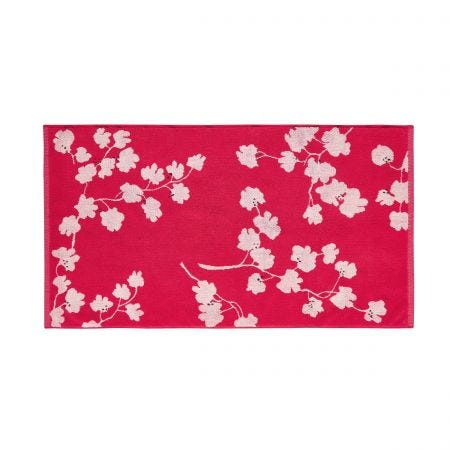 Penzance Red Bath Mat