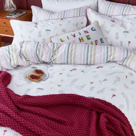 The Country Estate Bedding Chalk
