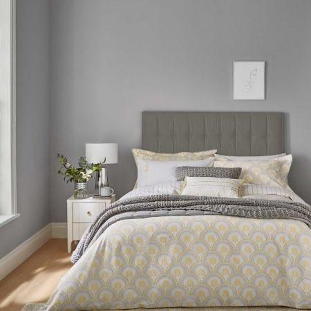 Reset Sprig Bedding Yellow/Silver