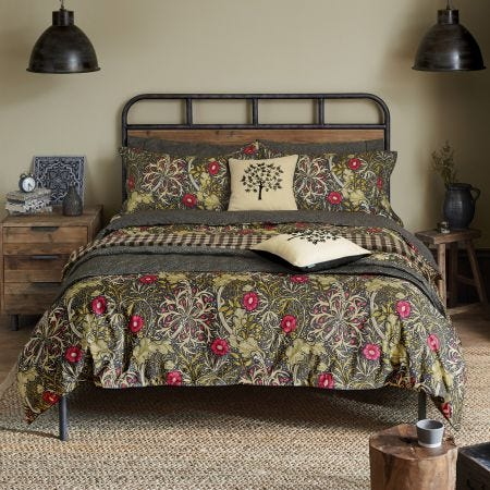 William Morris Seaweed Bedding