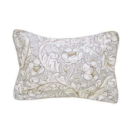Pure Bachelors Button Oxford Pillowcase, Stone & Linen