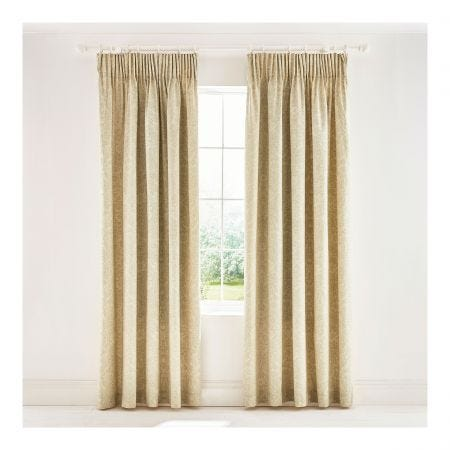 Bullerswood Paprika Lined Curtains