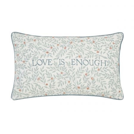 Compton Teal Cushion Front