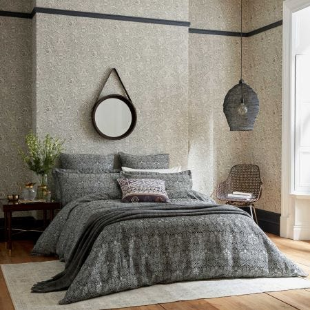 Crown Imperial Bedding Charcoal