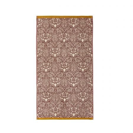 Crown Imperial Towel Mulberry