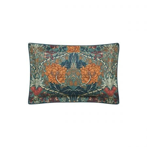 Honeysuckle & Tulip Oxford Pillowcase Mulberry & Teal