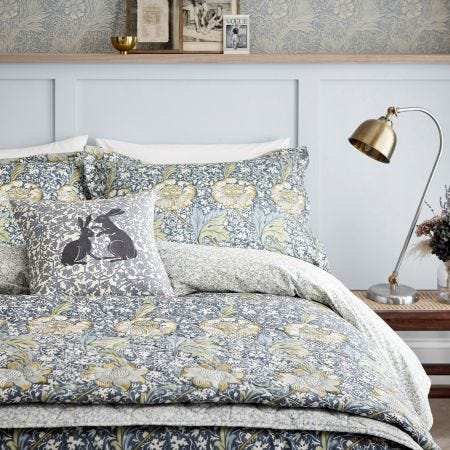 Kennet Bedding Indigo/Gold