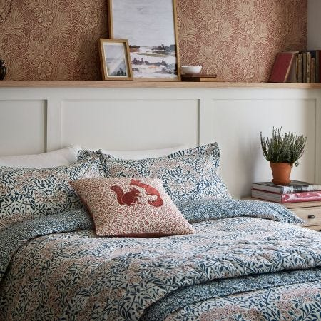 Michaelmas Daisy Bedding Teal/Claret