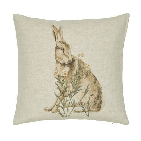 Little Chintz Linen Cushion Front