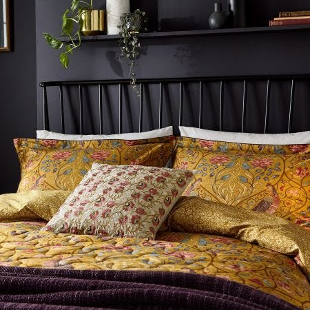 Seasons By May Bedding Saffron