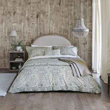 Wandle Grey Floral Bedding