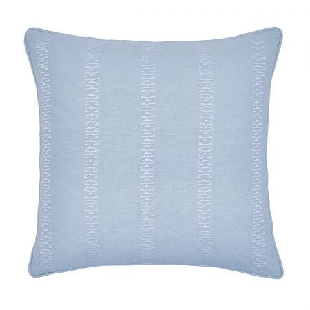 Birch Sky Blue Cushion Front
