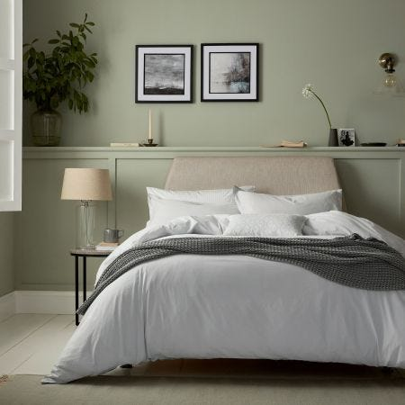 Calm Luxury Grey Stonewashed Bedding