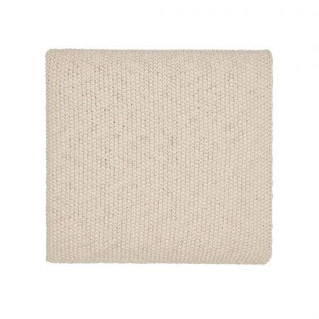 Drift Knitted Throw Linen