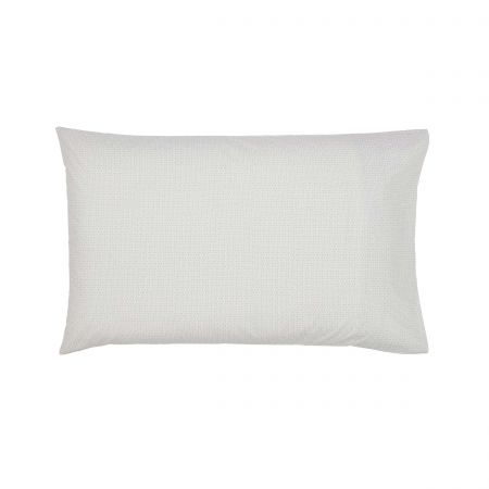 Edie Pair of Housewife Pillowcases Lough Green