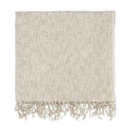 Grain Linen Woven Throw