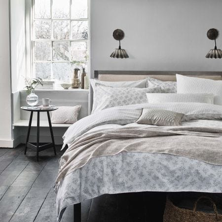 Murmur Leaf Print Bedding