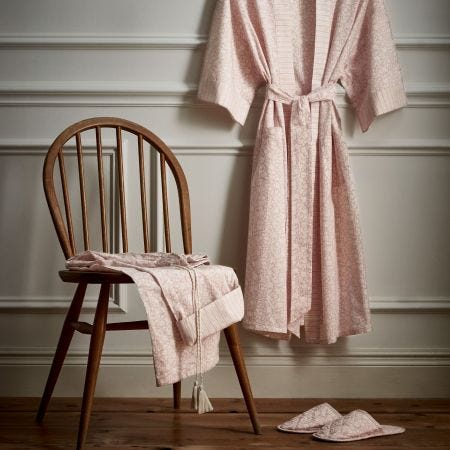 Flora Loungewear in Blush