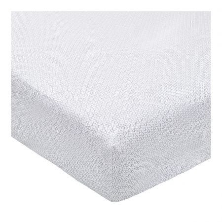 Mya Sky Blue Fitted Sheet