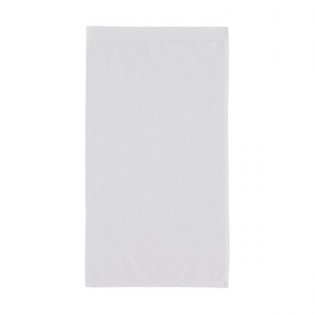 Ripple Towels, White