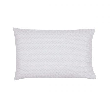 Rae Pair of Housewife Pillowcases Heather