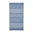 Ella Sky Blue Bath Towel