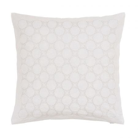 Skye White Cushion Front