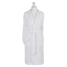 Waffle Bath Robes, White