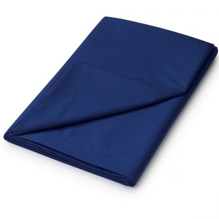 Double Navy Flat Sheets