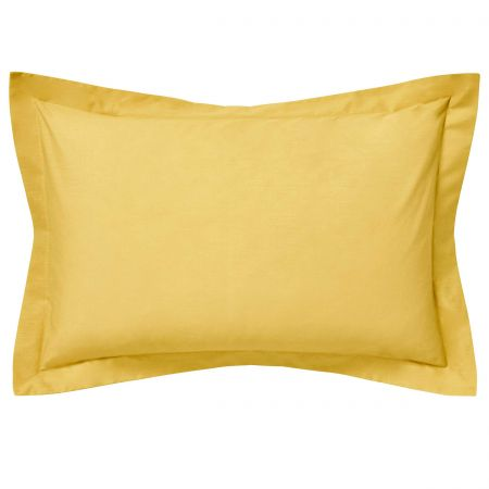 Luxury Ochre Oxford Pillowcase