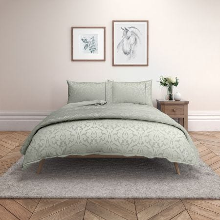 Pamir Gun Metal Bedding