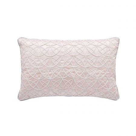 Ayana Dusky Pink Cushion Front.