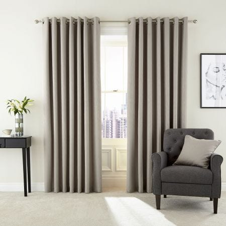 Barcelo Cashmere Lined Curtains