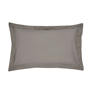 Gunmetal Plain Dye Oxford Pillowcase