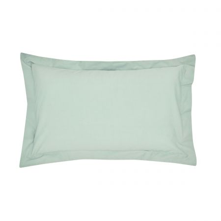 Seaglass Plain Dye Oxford Pillowcase
